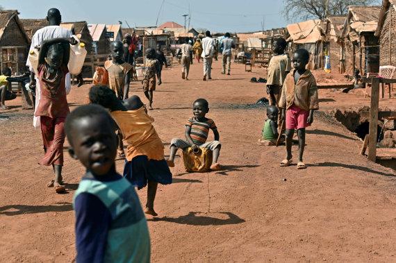 """AFP/""""Scanpix"""" nuotr./Pietų Sudanas"""