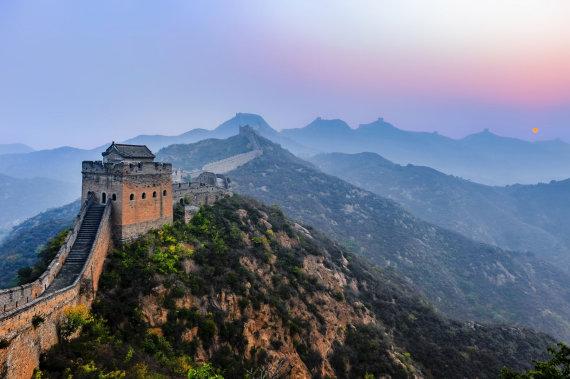 """""""Scanpix""""/""""Sipa USA"""" nuotr./Didžioji kinų siena"""