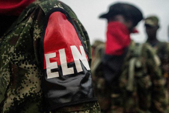 "AFP/""Scanpix"" nuotr./Kolumbijos ELN sukilėliai"