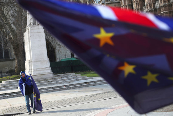 """""""Reuters""""/""""Scanpix"""" nuotr./""""Brexit"""" procesas sunkiai, bet juda į priekį"""