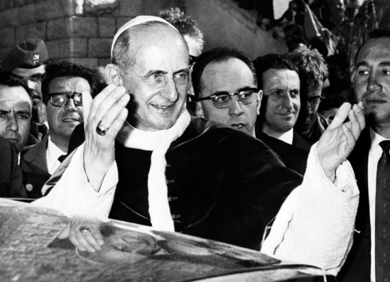 "AFP/""Scanpix"" nuotr./Popiežius Paulius VI"