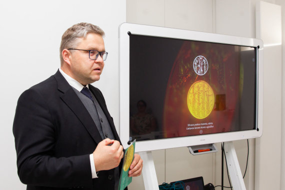 Lietuvos banko nuotr./Vitas Vasiliauskas