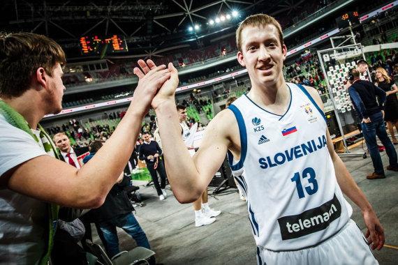 nuotr. FIBA /Miha Lapornikas