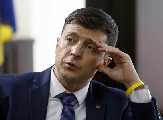 """Scanpix""/AP nuotr./Volodymyras Zelenskis"