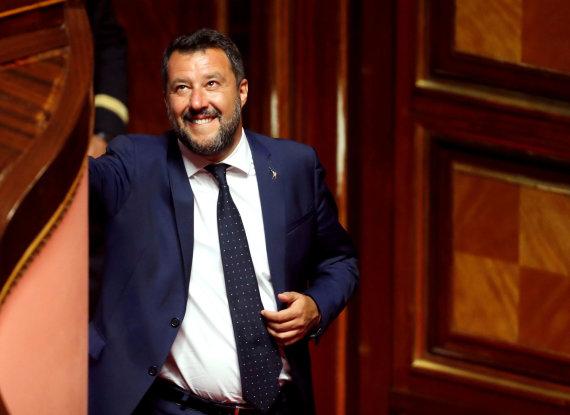 """Reuters""/""Scanpix"" nuotr./Matteo Salvini"