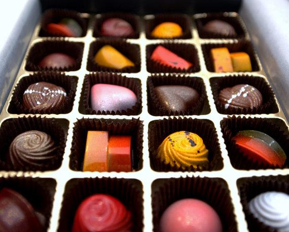 Jonathan Reyes, Flickr.com/Šokoladiniai saldainiai