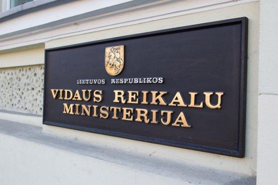 Irmanto Gelūno / 15min nuotr./Vidaus reikalų ministerija