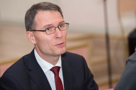 Josvydo Elinsko / 15min nuotr./Teisingumo ministras Elvinas Jankevičius sako, kad antstoliai vis dar sulaukia grasinimų