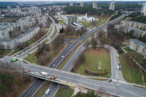 Sauliaus Žiūros nuotr./Laisvės prospektas Vilniuje