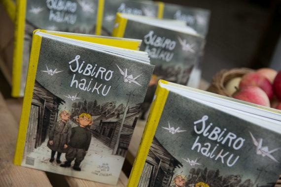 """Žygimanto Gedvilos / 15min nuotr./Knygos """"Sibiro haiku"""" pristatymas"""