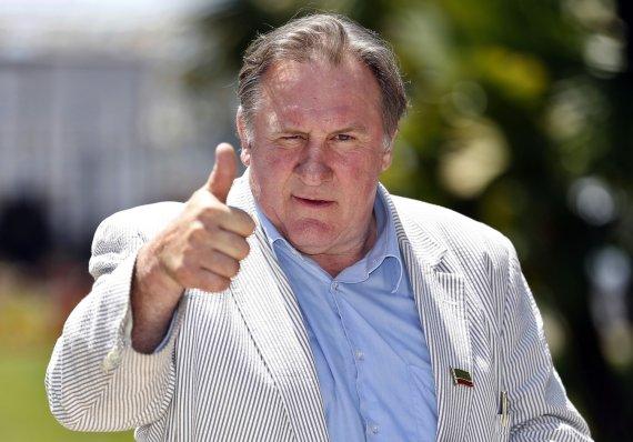 """AFP/""""Scanpix"""" nuotr./Gerard'as Depardieu švenčia 65-ąjį gimtadienį"""