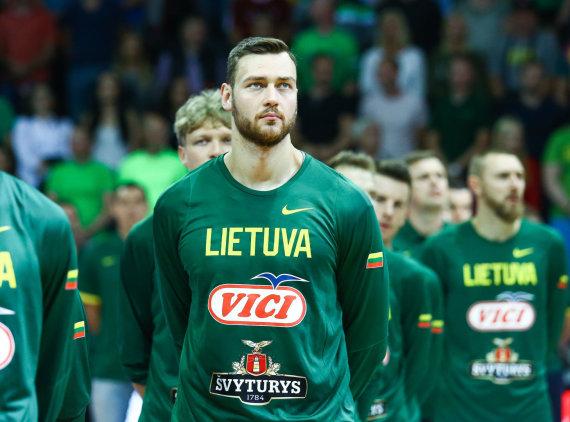 Luko Balandžio / 15min nuotr./Antrosios rinktinės rungtynės: Lietuva – Gruzija