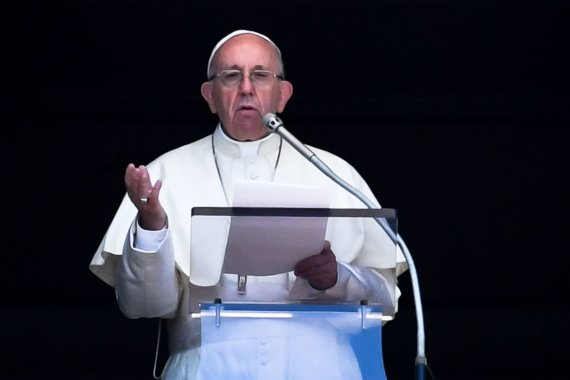 """AFP/""""Scanpix"""" nuotr./Popiežius Pranciškus"""