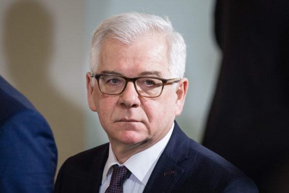 "AFP/""Scanpix"" nuotr./Jacekas Czaputowiczius"