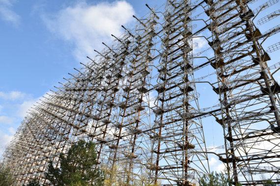 """Scanpix""/""RIA Novosti"" nuotr./DUGA-3 antenos Černobilio zonoje"