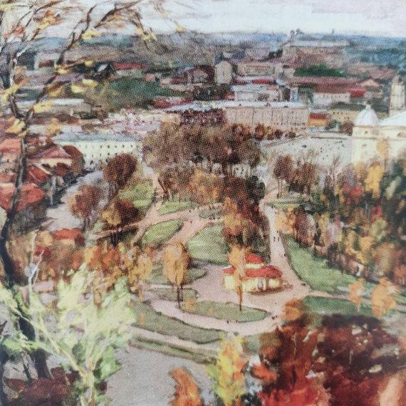 "I.Medvedevo piešinys. 1957 m./""Rotonda"""