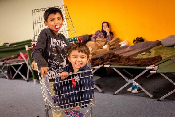 Vidmanto Balkūno/15min.lt nuotr./Pabėgėlių stovyklos Grace gyvenimas