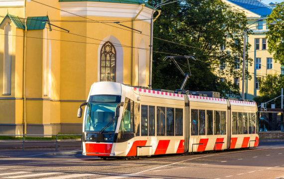 123rf nuotrauka/Tramvajus Taline