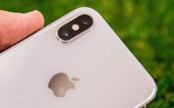 """Luko Balandžio / 15min nuotr./""""Apple Iphone X"""""""