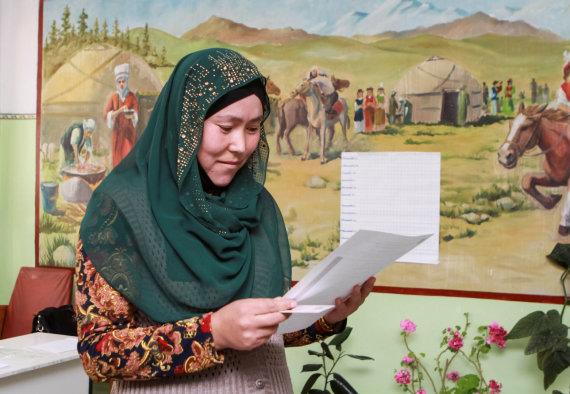 """Reuters""/""Scanpix"" nuotr./Prezidento rinkimai Kirgizijoje"