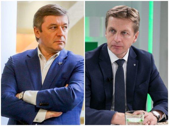 15min nuotr./Ramūnas Karbauskis ir Arvydas Vaitkus