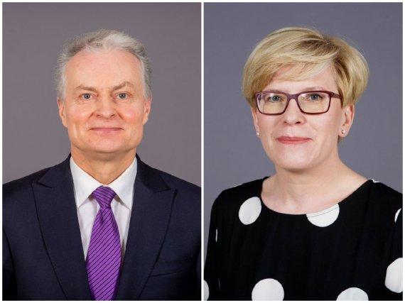 15min koliažas/Gitanas Nausėda, Ingrida Šimonytė