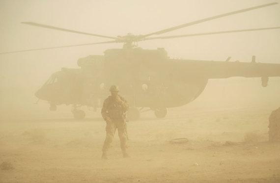 """""""Scanpix""""/AP nuotr./Rusijos kariai Sirijoje, ties Deir ez Zoru"""