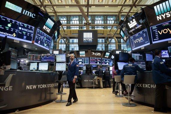 """AFP/""""Scanpix"""" nuotr./Niujorko vertybinių popierių birža"""