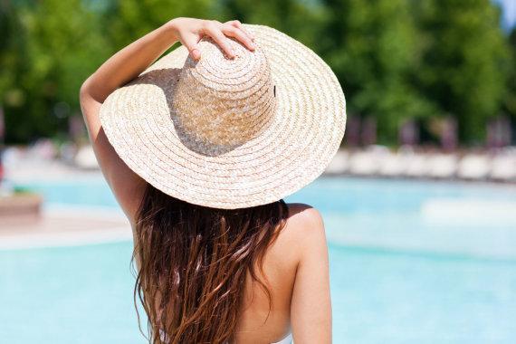 123RF.com nuotr./Mergina ilgais plaukais