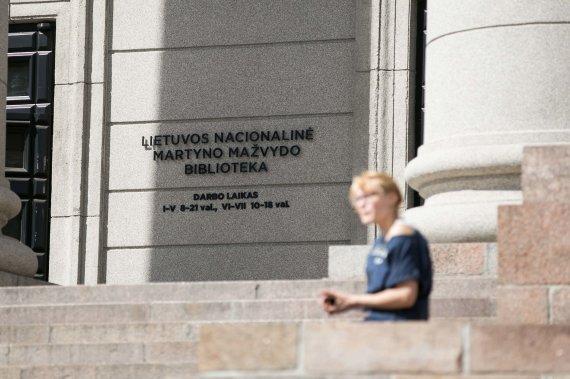 Žygimanto Gedvilos / 15min nuotr./Lietuvos nacionalinė Martyno Mažvydo biblioteka