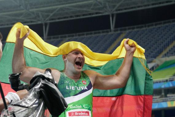 Rimanto Navicko/RGB pictures nuotr./Mindaugas Bilius Rio parolimpiadoje