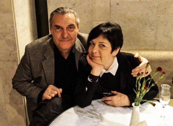 Donato Klimo nuotr./Algirdas Kaušpėdas su žmona Vilija