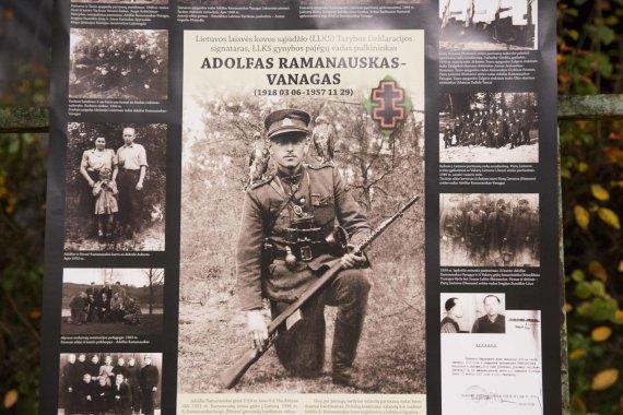 Irmanto Gelūno / 15min nuotr./Vilniuje – pilietinė akcija partizanui A.Ramanauskui–Vanagui palaikyti