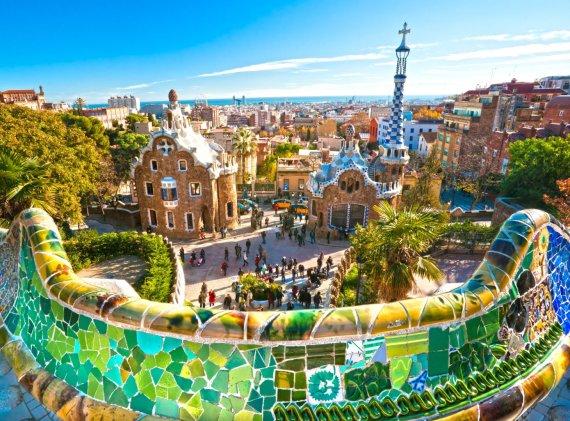 123rf.com nuotr./Guelio parkas Barselonoje