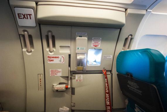 123rf.com nuotr./Lėktuvo durys