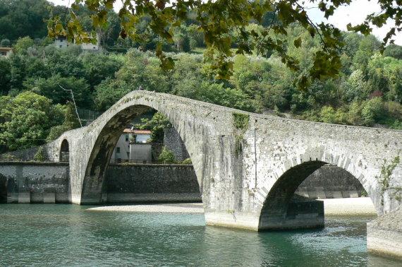 A.Kaminskienės nuotr./Velnio tiltas Lukos provincijoje