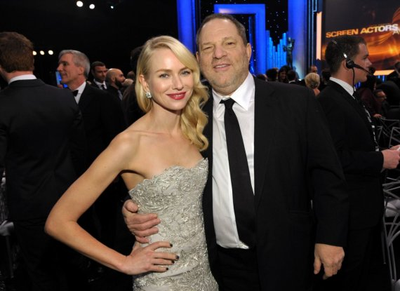 """Scanpix""/AP nuotr./Harvey Weinsteinas ir Naomi Watts"