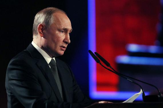 """""""Scanpix""""/""""SIPA"""" nuotr./Vladimiras Putinas"""