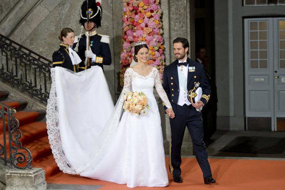 """""""Scanpix"""" nuotr./Švedijos princesė Sofia ir princas Carlas Philipas (2015 m.)"""