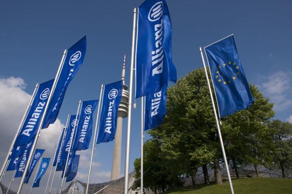 """Allianz"" nuotr./""Allianz"" vėliavos"