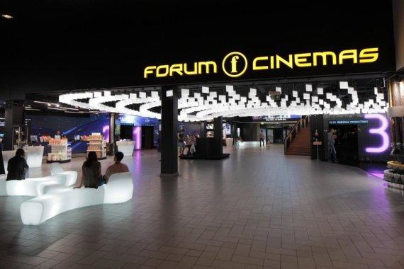 """""""Forum Cinemas"""" nuotr. /""""Forum Cinemas"""" Kaune interjeras"""