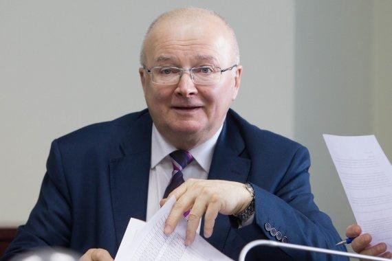 BFL/Vyginto Skaraičio nuotr./Vyriausiosios rinkimų komisijos pirmininkas Zenonas Vaigauskas