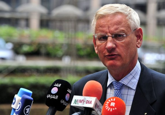 "AFP/""Scanpix"" nuotr./Carlas Bildtas"