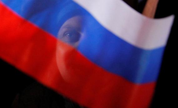 """""""Reuters""""/""""Scanpix"""" nuotr./Rusijos vėliava"""