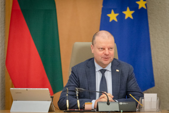 LRVK/Dariaus Janučio nuotr./Premjeras susitiko su Lietuvos prekybos įmonių asociacijos atstovais