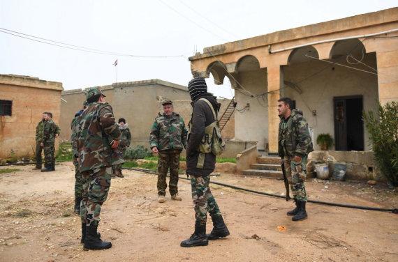 """AFP/""""Scanpix"""" nuotr./Sirijos kurdai"""