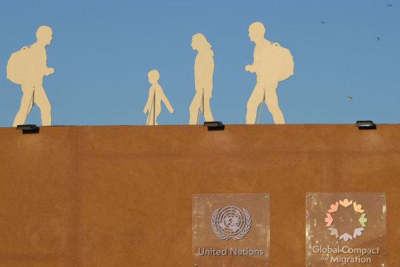 """AFP/""""Scanpix"""" nuotr./Dėl JT migracijos pakto Europoje kilo aistros"""