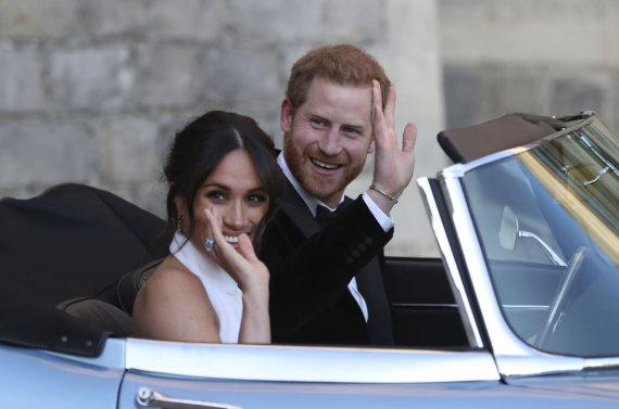 """Scanpix""/AP nuotr./Princas Harry ir Meghan Markle"