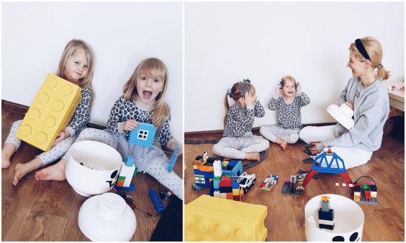 Asmeninio albumo nuotr./Piešimas, knygų skaitymas ir konstruktoriai suvienija keturis Arnauskų šeimos vaikus
