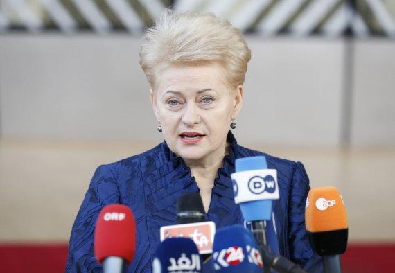 """Scanpix""/""SIPA"" nuotr./Dalia Grybauskaitė"
